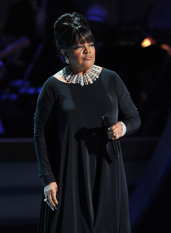 . Singer Shirley Caesar performs on the BET Celebration of Gospel 2012 at the Orpheum Theatre on March 16, 2012 in Los Angeles, California.  (Photo by Frank Micelotta/PictureGroup) via AP IMAGES