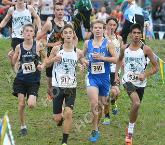 Boys Cross-Country Hockomock Championships 10-29-16
