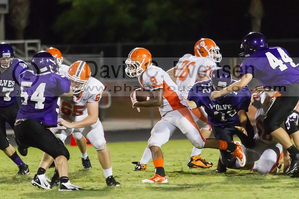 Boone Junior Varsity Football #9 - 2013