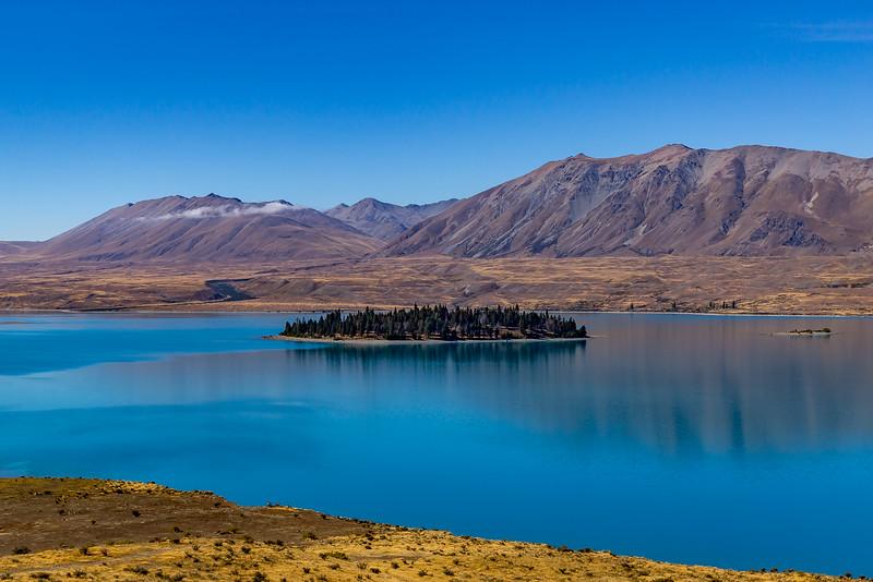 Am «Lake Tekapo»