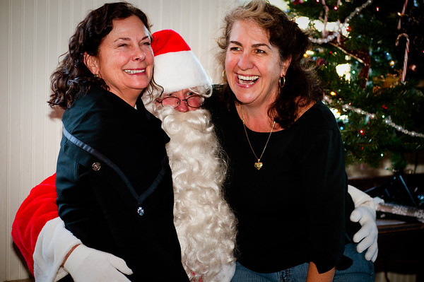 Santa in Bolinas 2011