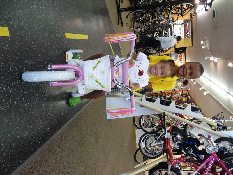 Christina & her brother show off her new bike from Cahaba Cycles, Homewood AL.jpg