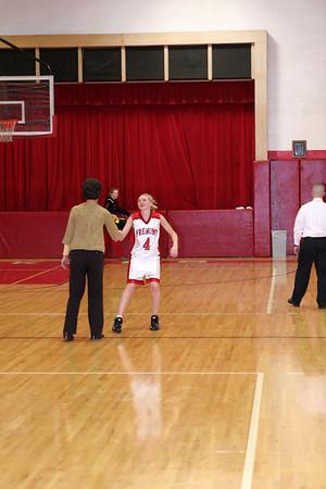 Girls JV Basketball - 2007-2008 - 2/1/2008 Spring Lake