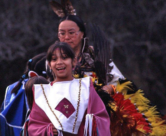 Nisqually Tribe dancers elder & young woman.jpg