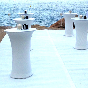 70410 Bar or reception tables with cover