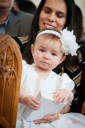 Andrea Marie Morales Baptism - Church / Reception