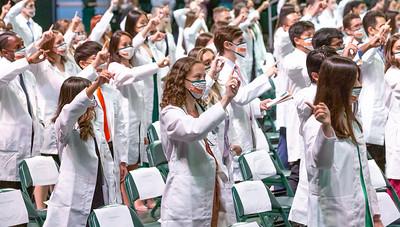 Stethoscopes, Oath, Alma Mater, Closing, & More!