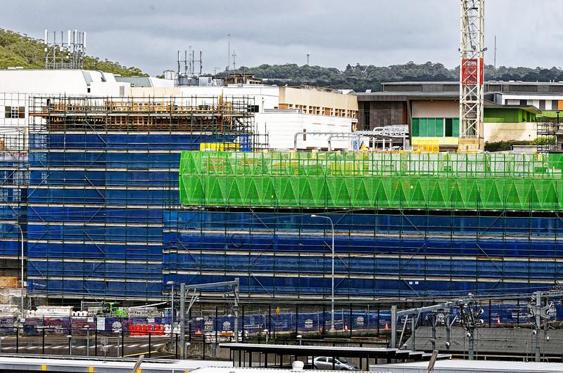 Gosford Hospital building progress November 4, 2018.   (h64ed)