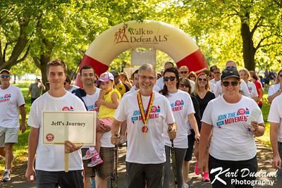 Jeff's Journey ALS Walk 2019