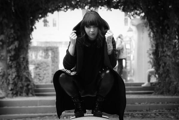 Lisa Zwarts, Un Jour de Septembre 2019, à Paris / Montmartre