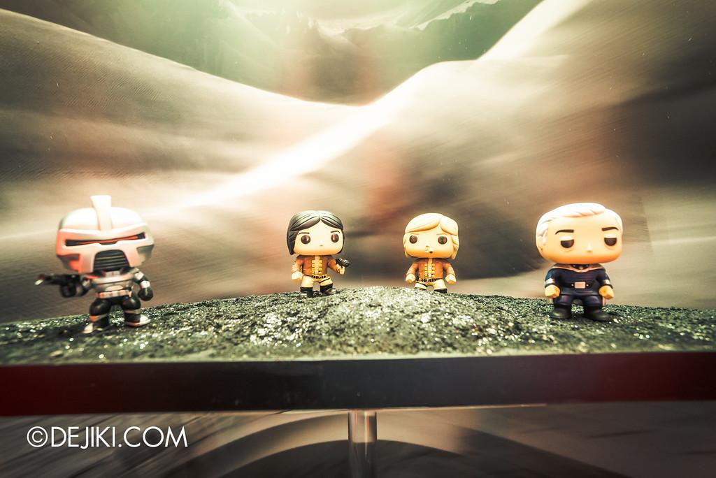 Universal Studios Singapore - Park Update May 2016 / Galactica Funko