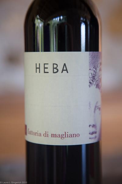 Heba, my personal favorite...especially with homemade pesto filled raviolis.