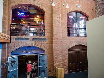 Cleveland Aquarium and Boardwalk 8/9/15