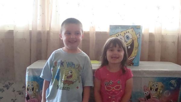 Mason's 4th Birthday - July 27, 2013