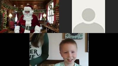 Santa Zoom Calls