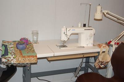 Sewing Machines and Studio Bits