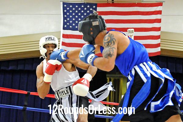 Bout 7 Jose Rodriguez, Jr, Team Rodriguez, Tallmadge -vs- John Bullock, Downtown BC,Youngstown, 160 lbs