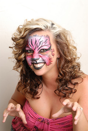 Hair and Face Painting Event August 7, 2010