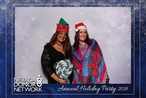 Nevada Donor Network Holiday Party 2018