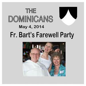 Fr. Bart's Farewell Party