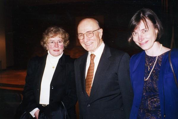 Dr. Edmund Pellegrino Lecture, 1999
