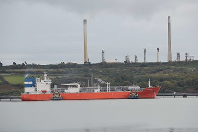 Shipping at Milford Haven