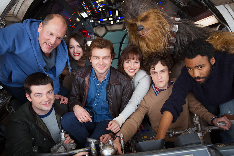 Solo HAN SOLO flick begins principal photography