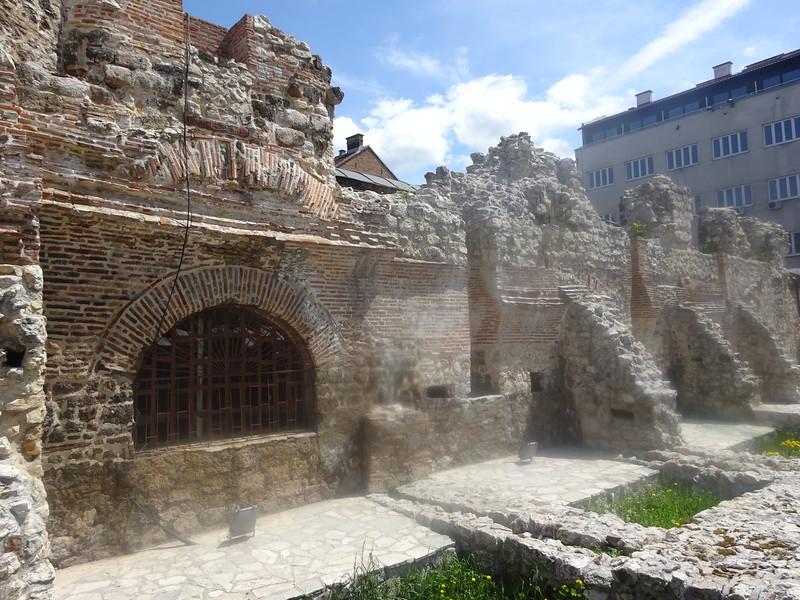 07_Sarajevo. Taslihan. Caravansarai. 1543. Meaning made of stone. 90 Guests, 70 Horses. Free for 3 days.JPG