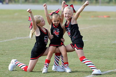 10/6/2012 Gilmer vs Flowery Branch 7U Cheer