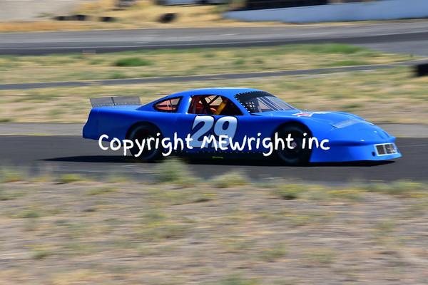 29 blue Pontiac