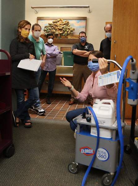 Westford dentist donates disinfecting machines 071720