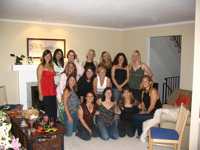 Amy's Shower and Bachelorette Party: 9/10/05