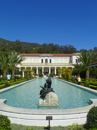 L.A., Getty Villa