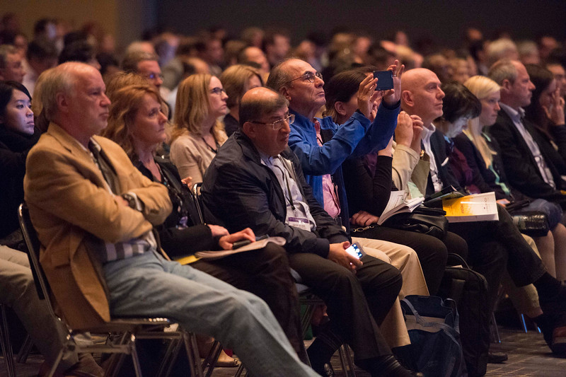 Attendees listen during Hematologic Malignancies? Lymphoma and Chronic Lymphocytic Leukemia Oral Abstract Session