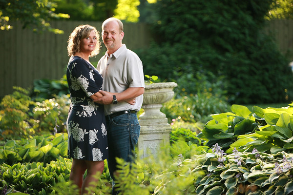 The Stoltey Family at Avon Gardens