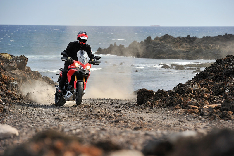 Ducati Multistrada 1200, Canary Islands press launch May 2009  Photo source: http://www.asphaltandrubber.com/