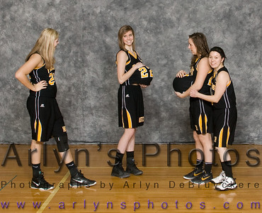 Hutch Girls Basketball silly