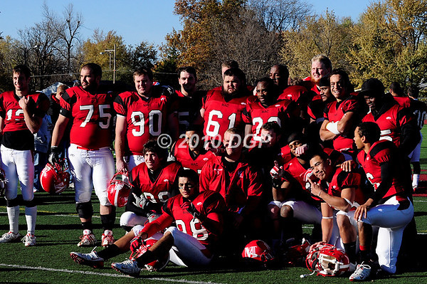 FB Mac Senior Day 2010