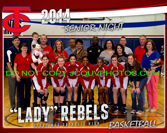 "2013 - 14 TCH ""Lady Rebels"" Basketball"