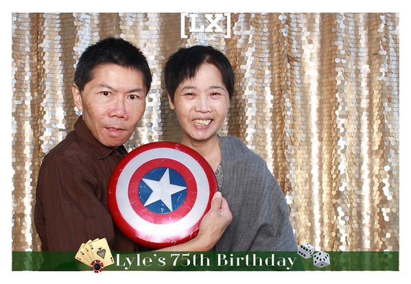 Single Poses - Lyle's 75th
