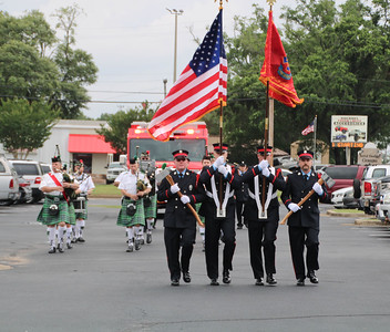 """Escambia County Fire-Rescue Squad 3 """"Push in Ceremony"""""""