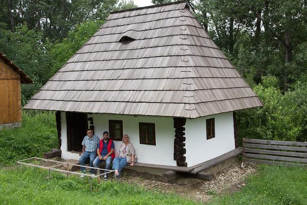 Muzeul Satului Bucovinean, Suceava, Romania - June, 2016