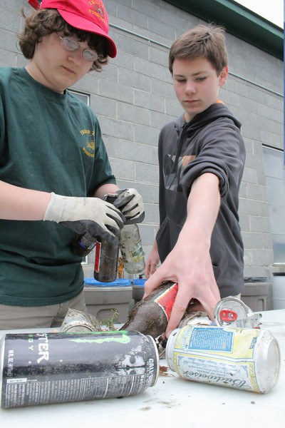 Woodstock Green Up Day and Boy Scout Bottle Drive