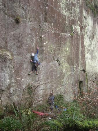 Cornish Climbing