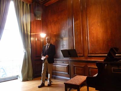 Apr 24 Wed 2013 ITALIAN INSTITUTE Shows Off Stradivarius