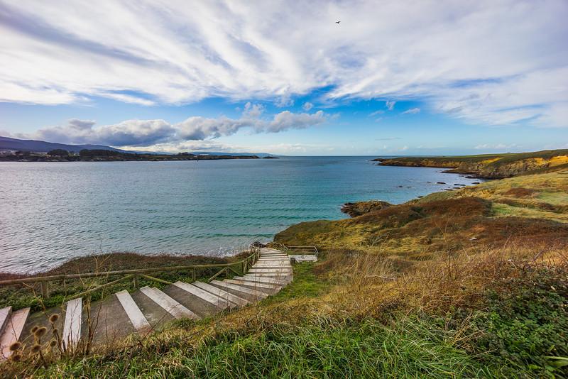 Escalera a la Ría de #Ribadeo #Galicia #Spain