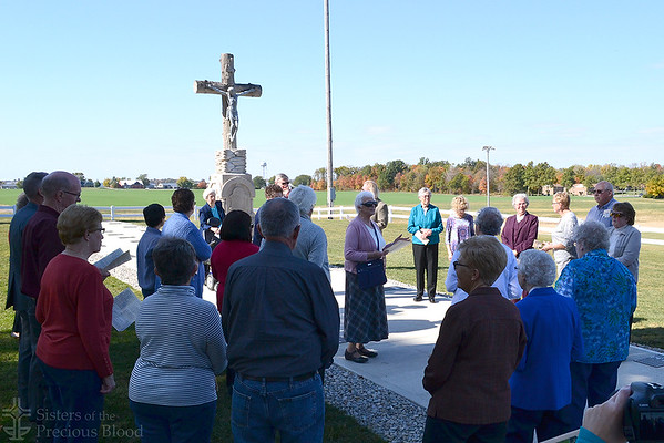 Cemetery Dedication at Maria Stein Shrine of the Holy Relics
