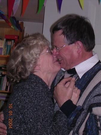 Opa en oma van Leeuwen
