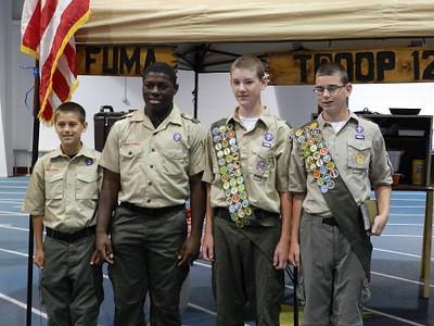 Boy Scout Activity--Parent's Weekend
