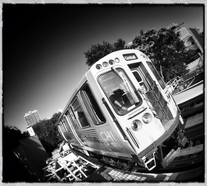 last train to sunset (iPhoneography)